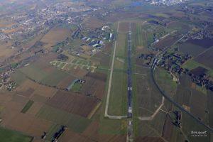 vue ciel aérodrome merville