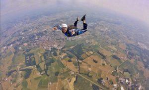 Saut en parachute Nord sur champs
