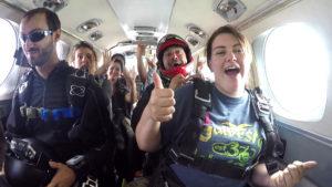 avant saut en parachute Nevers