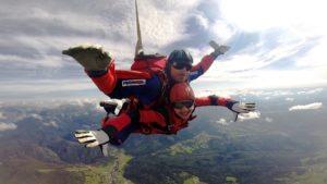 Baptême tandem parachutisme Nice