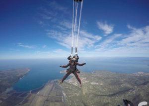 Saut en parachute Nice